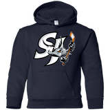 San Jose Barracuda Primary Logo Youth Pullover Hoodie