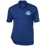 Syracuse Crunch Performance Textured Three-Button Polo