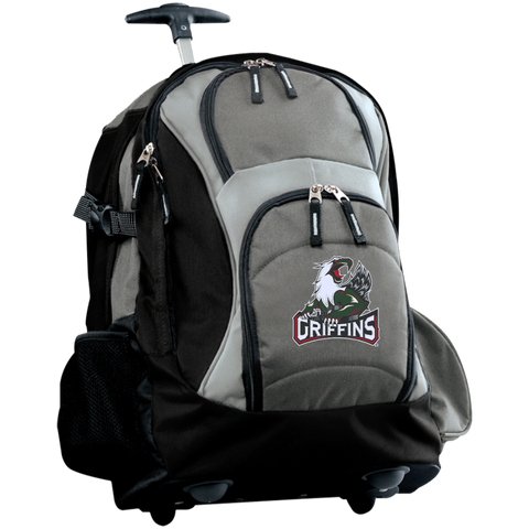 Grand Rapids Griffins Embroidered Wheeled Backpack