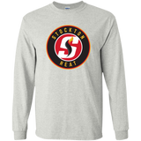 Stockton Heat Adult Primary Logo Long Sleeve T-Shirt