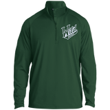 Iowa Wild Adult Half Zip Raglan Performance Pullover