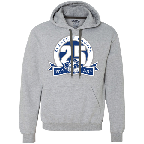 Syracuse Crunch 25th Anniversary Heavyweight Pullover Hoodie