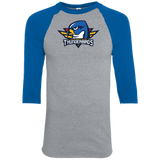 Springfield Thunderbirds Primary Logo Youth Colorblock Raglan Jersey