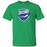 Utica Comets Primary Logo Youth Short Sleeve T-Shirt