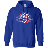 Rochester Americans Primary Logo Adult Pullover Hoodie
