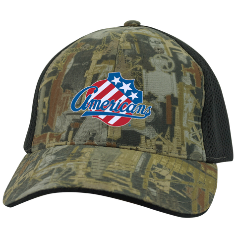 Rochester Americans Camo Cap with Mesh