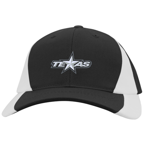 Texas Stars Mid-Profile Colorblock Hat