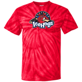Rockford IceHogs Primary Logo Adult Cotton Tie Dye T-Shirt