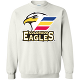 Colorado Eagles Primary Logo Adult Crewneck Pullover
