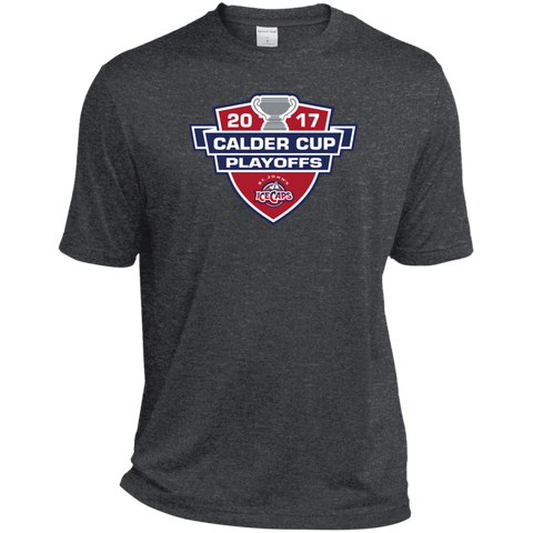 St. John's IceCaps Adult 2017 Calder Cup Playoffs Heather Dri-Fit Moisture-Wicking T-Shirt