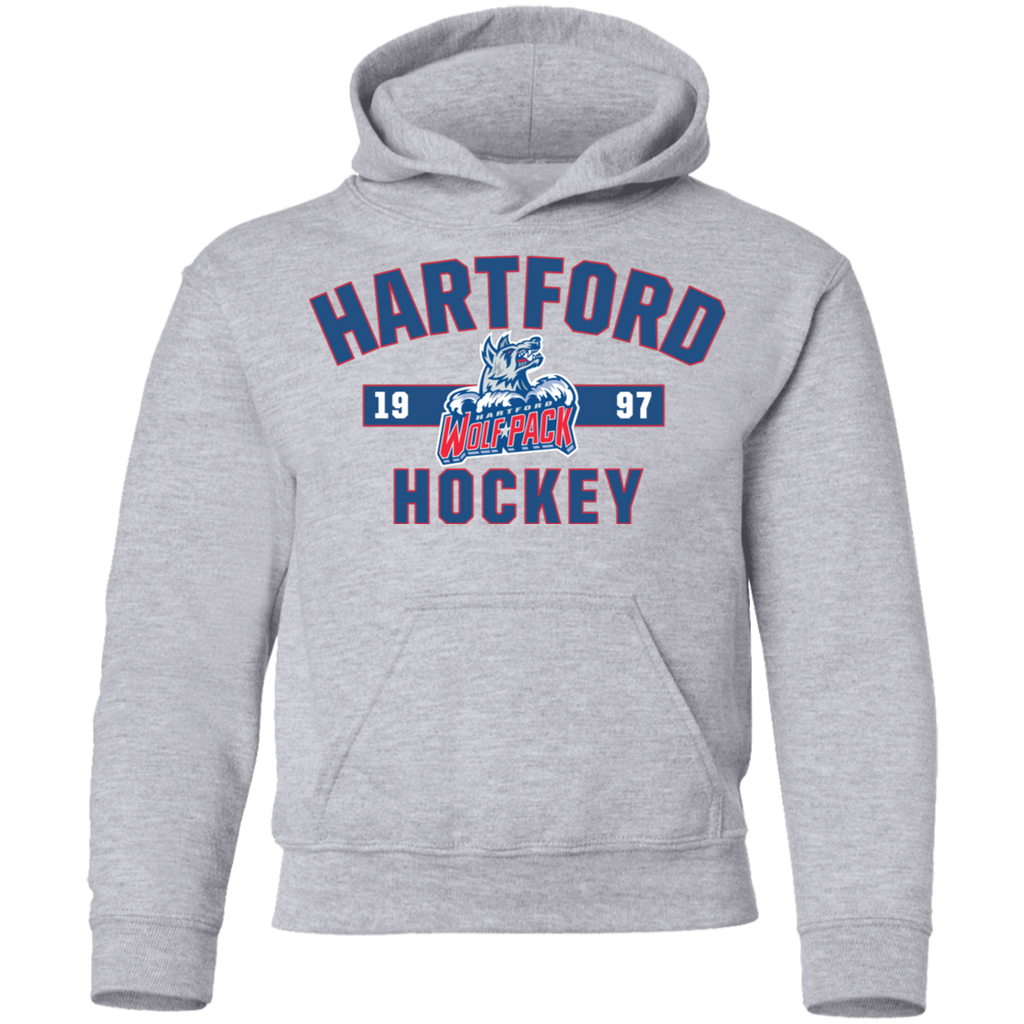 Hartford Wolf Pack Youth Established Pullover Hoodie