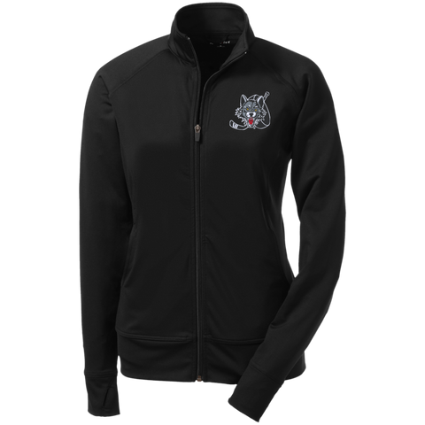 Chicago Wolves Ladies' Athletic Stretch Full Zip Jacket