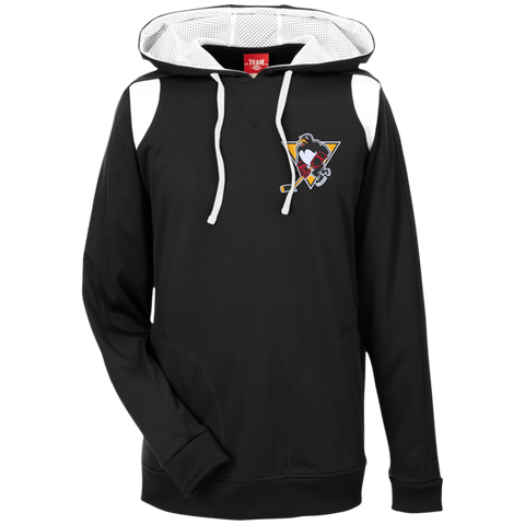 Wilkes-Barre/Scranton Penguins Adult Team 365 Colorblock Poly Hoodie