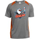 San Diego Gulls Primary Logo Youth Colorblock Performance T-Shirt