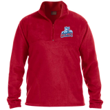 Hartford Wolf Pack Embroidered 1/4 Zip Fleece Pullover