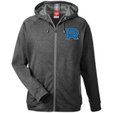 Laval Rocket Team 365 Men's Heathered Performance Hooded Jacket
