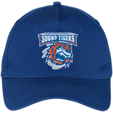 Bridgeport Sound Tigers Five Panel Twill Cap