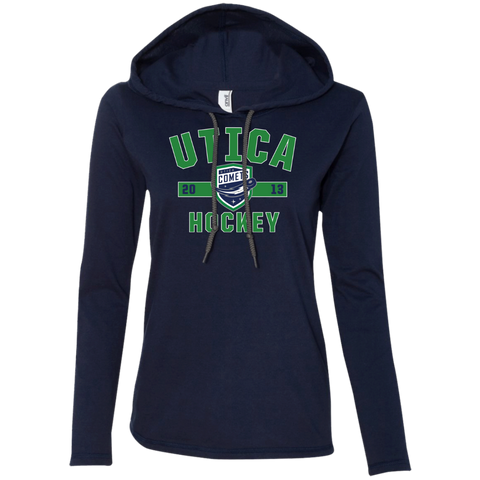 Utica Comets Ladies' Established Long Sleeve T-Shirt Hoodie