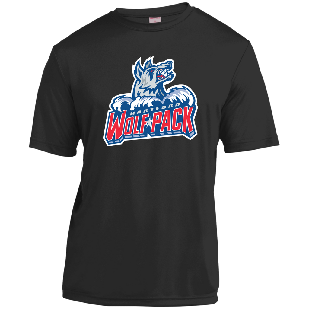 Hartford Wolf Pack Primary Logo Short Sleeve Moisture-Wicking Shirt