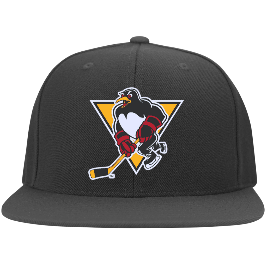 Wilkes-Barre/Scranton Penguins Flat Bill Twill Flexfit Cap