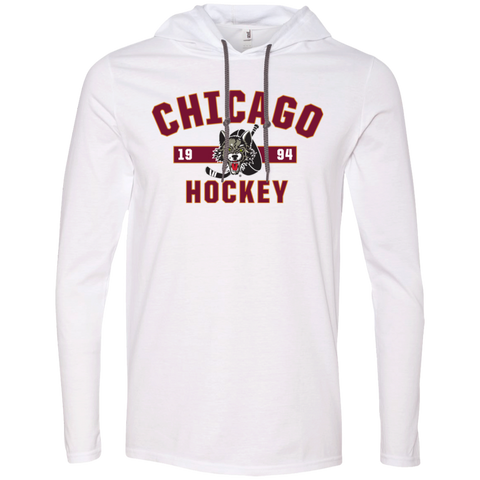 Chicago Wolves Adult Established Long Sleeve T-Shirt Hoodie