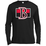 Belleville Senators Primary Logo Adult Long Sleeve Moisture Absorbing T-Shirt