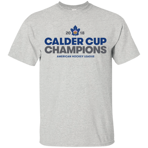 Toronto Marlies 2018 Calder Cup Champions Youth Crown T-Shirt