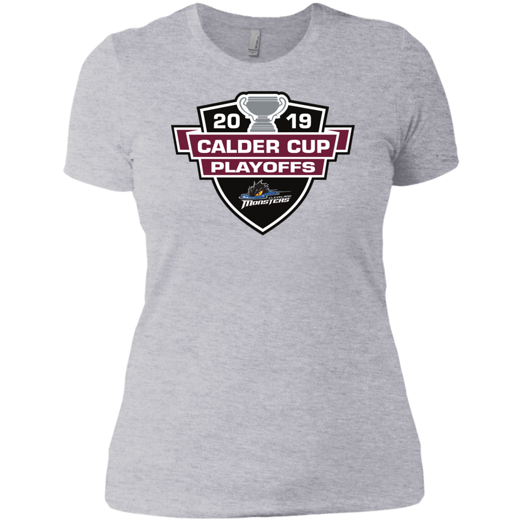 Cleveland Monsters 2019 Calder Cup Playoffs Next Level Ladies' T-Shirt