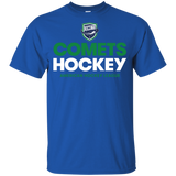 Utica Comets Hocke Youth Short Sleeve Cotton T-Shirt