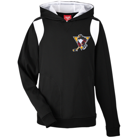 Wilkes-Barre/Scranton Penguins Team 365 Youth Colorblock Poly Hoodie