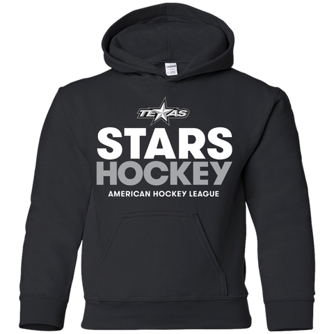 Texas Stars Hockey Youth Pullover Hoodie