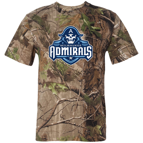 Milwaukee Admirals Adult Short Sleeve Camouflage TShirt