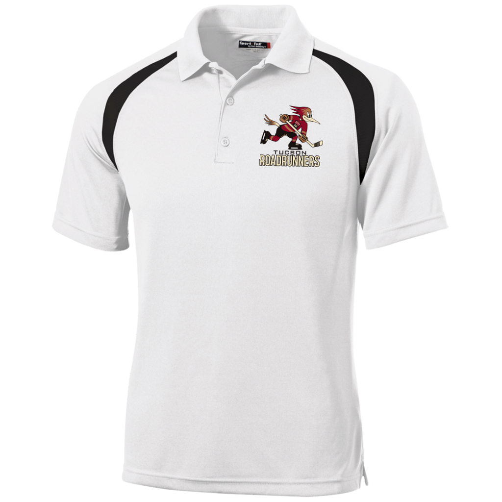 Tucson Roadrunners Moisture Wicking Tag Free Polo