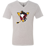 Wilkes-Barre/Scranton Penguins Men's Next Level Triblend V-Neck T-Shirt