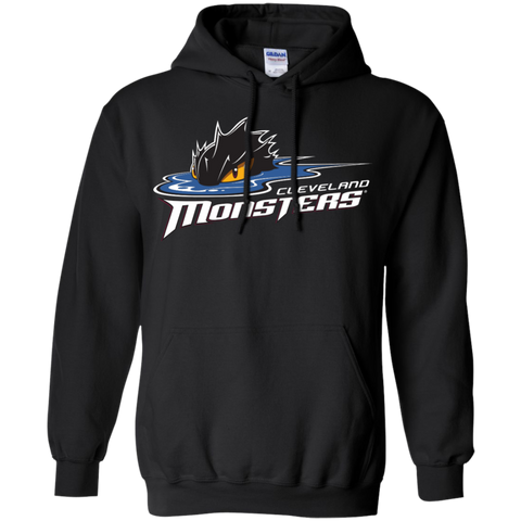 Cleveland Monsters Primary Logo Adult Pullover Hoodie