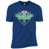 Utica Comets Adult 2018 Calder Cup Playoffs Next Level Premium Short Sleeve T-Shirt