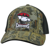 Charlotte Checkers Camo Cap with Mesh