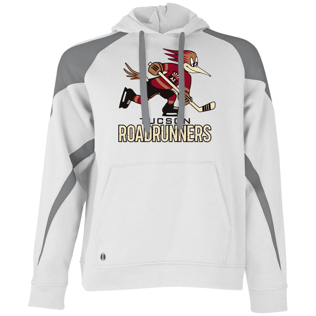 Tucson Roadrunners Primary Logo Adult Colorblock Hoodie