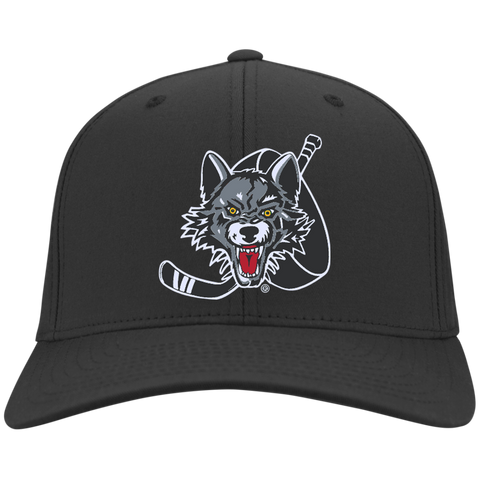 Chicago Wolves Flex Fit Twill Baseball Cap