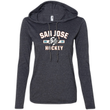 San Jose Barracuda Ladies' Established Long Sleeve T-Shirt Hoodie