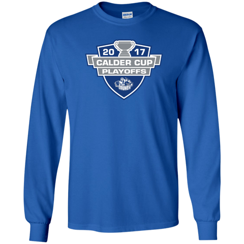 Syracuse Crunch Adult 2017 Calder Cup Playoffs Long Sleeve Shirt