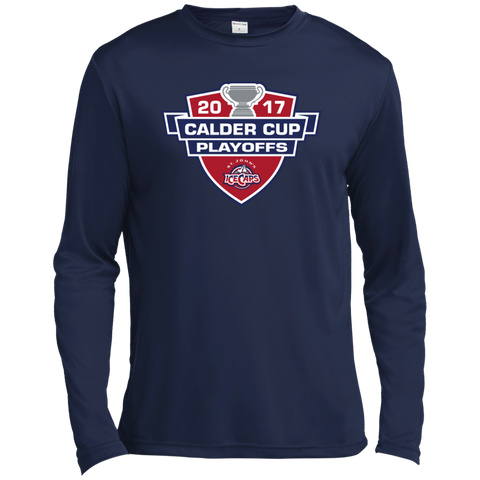 St. John's IceCaps Adult 2017 Calder Cup Playoffs Long Sleeve Moisture Absorbing Shirt