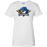Springfield Thunderbirds Primary Logo Ladies' 100% Cotton T-Shirt