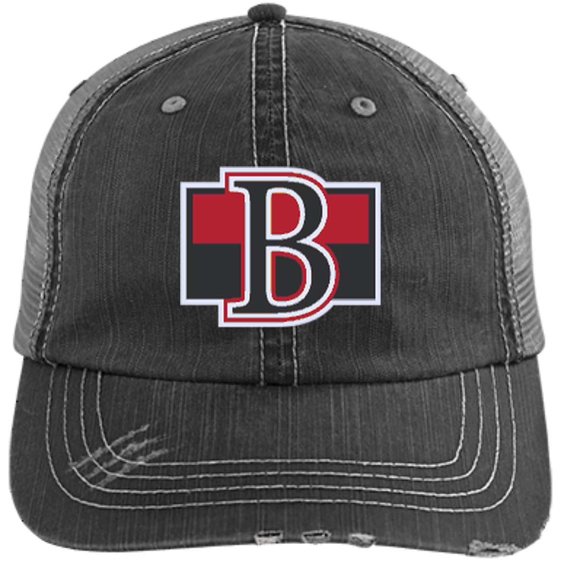 ea58751feac933 Belleville Senators Distressed Unstructured Trucker Cap – ahlstore.com