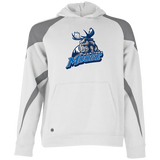 Manitoba Moose Primary Logo Youth Colorblock Hoodie