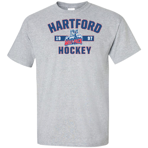 Hartford Wolf Pack Adult Established Tall Ultra Cotton T-Shirt