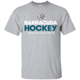San Jose Barracuda Hockey Primary Logo Adult Short Sleeve T-Shirt