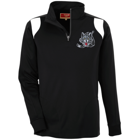 Chicago Wolves Adult Team 365 Performance Colorblock 1/4 Zip