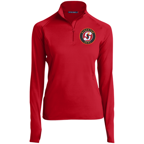 Stockton Heat Women's Half Zip Performance Pullover
