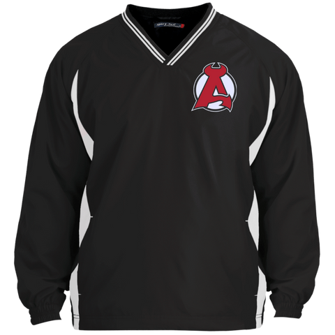 Albany Devils Adult Tipped VNeck Wind Shirt
